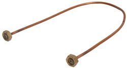 Copper Burner Pigtail
