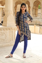 Cotton Straight Casual Pattern Kurti