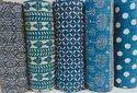 Cotton Kantha Bed cover Indigo Bedspread