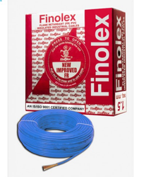 Finolex Flame Retardant PVC Insulated Industrial Blue Cables 1100 V