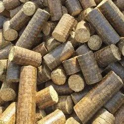 Less Than 10 % Solid Biofuel Briquettes, For Boiler, Packaging Size: 30 Kg