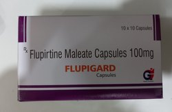 Flupirtine Maleate 100 and 400 mg Capsule