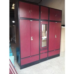 Double Door Metal Cupboard, for Home