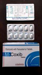 Etoricoxib 60mg   Paracetamol 325 mg Tablets