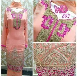 Georgette Party Suit W-382