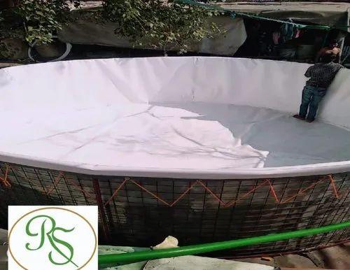 Biofloc Mesh Tank | R S Polymers | Manufacturer in Shalimar Bagh