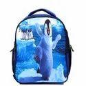 Polyester Penguin Print Multipurpose Kids School,Picnic Backpack