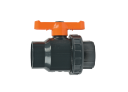 Single Union PVC Ball Valves, Size: 63mm And 110mm