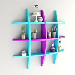 Wooden Decorative Wall Shelves for Home