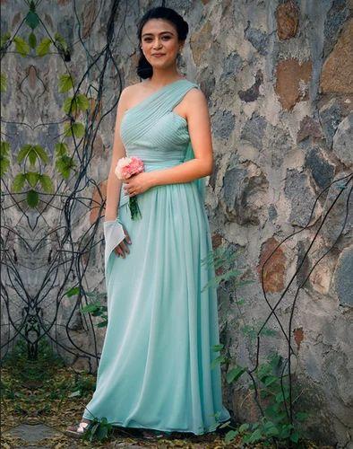 Roman Style Bridesmaid''s Dress