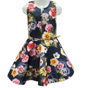 Party Wear Cotton Sleeveless Baby Frocks