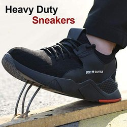 Heavy Duty Sneaker Safety Work Shoes