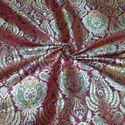 Pure Silk Brocade Fabric