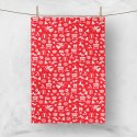 Anjaneya Multicolor Cotton Kitchen Towel, Size: 50x70 Cm