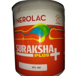 Nerolac Suraksha Plus Acrylic Emulsion Paint, Packaging Size: 20 L