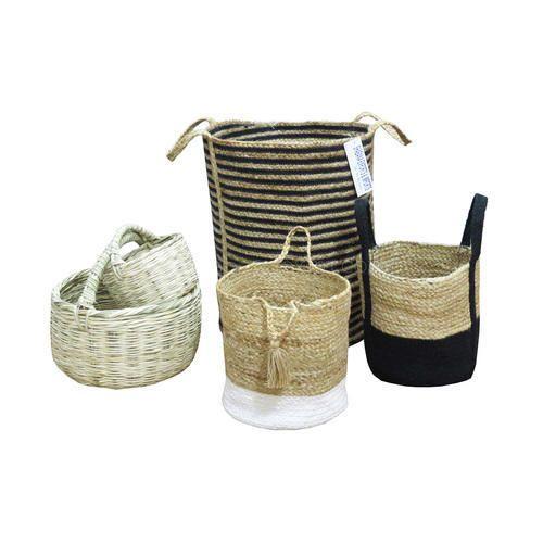 4d848485fde3 Jute Baskets and Bags - Crochet Jute Basket Manufacturer from Delhi