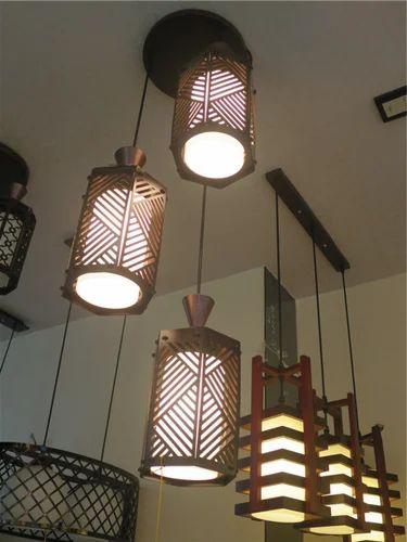 Decorative Wooden Hanging Lights