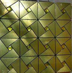 Gold Finish Tiles