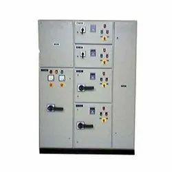 Mild Steel Sheet Three Phase Electric Control Panel, IP Rating: IP44