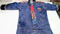 Party Wear Denim Shirt