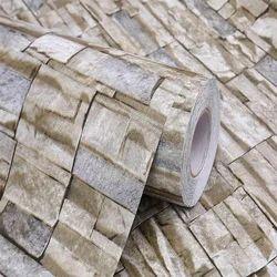 Self Adhesive Brick Wallpaper