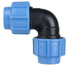 PP Compression Elbow Fitting