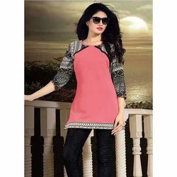 Ladies Sleeve Design Work Tops