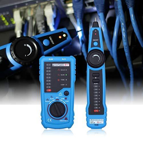 Network LAN Ethernet RJ45 RJ11 RJ12 Cable Wire Tester Tracker Toner Tracer Tool