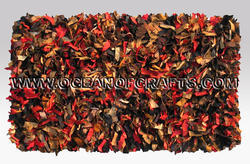 SGE Leather Shaggy Carpet