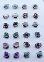 Ruby Gemstone Designer Jewelry 925 Silver Stud Earring