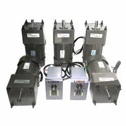 Linix Single Phase 60watt Speed Gear Control Motor, Voltage: 220VAC