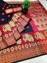 Cotton Silk Party Wear Designer Saree