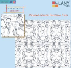 60x60cm Polished Porcelain Tiles