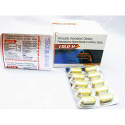 Cold M Tablets, 1x10 Tablets, Packaging Type: Box