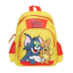 Polyester Tom And Jerry School Bag