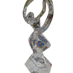 Transparent Glass Statue