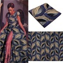African Real Wax Print Pure Cotton Fabric, Gsm: 150-200, Use: Cover