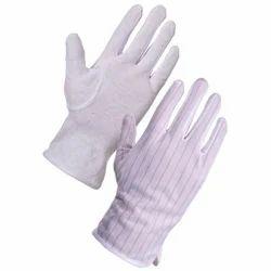White Blue Sky Anti Static Gloves