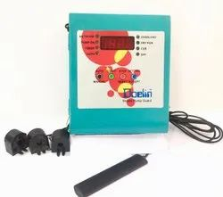 Three Phase GSM Mobile Auto Pump Guard Display