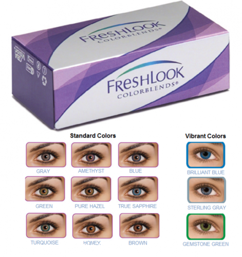 03dd4f87542 Fresh Look Color Blends Contact Lenses