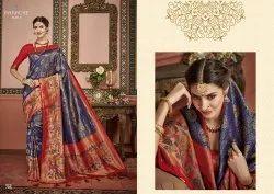 Panache Launch Sakshi Premium Silk Exclusive Designer Saree