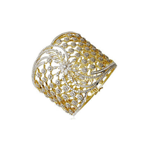 18 carat gold bangles