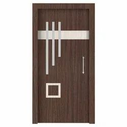 Popular & pine wood Brown Flush Door