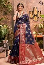 Designer Festive wear banarasi silk saree