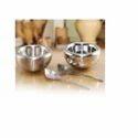 Round Metal Snack Bowl, Size: 10 Cm