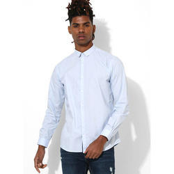 Mens Plain Sky BlueShirt