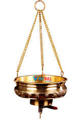 2 L Shirodhara Pot With Chain And Valve