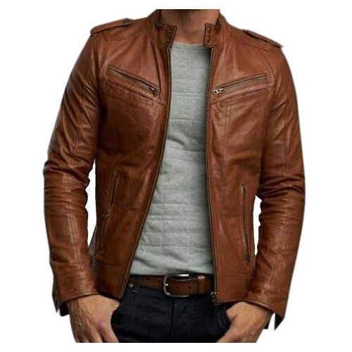 Best Motorcycle Jacket >> Mens Brown Leather Jacket at Rs 4000 /piece | Dharavi | Mumbai | ID: 15290544430
