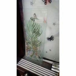 Transparent Designer Wall Glass