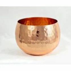 ARC Export Copper Bowl, Size: 10 x 12 Cm